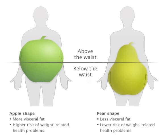 Apple-vs-Pear-Shape