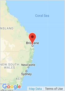 Brisbane Google Map