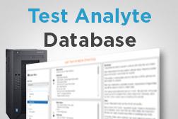 Lab Test Analyte Database