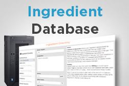 Ingredient Database